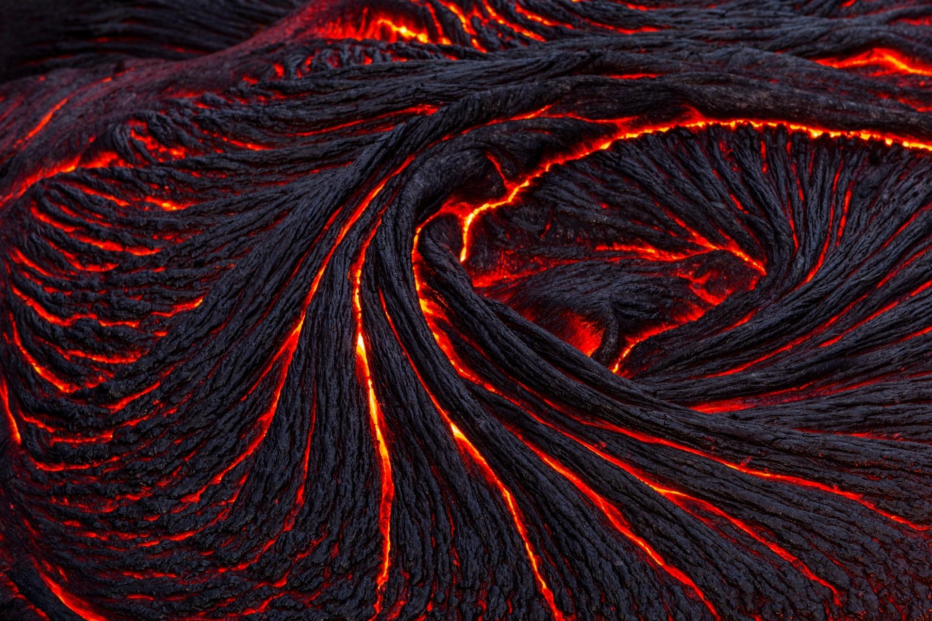 キラウエア火山の風景 ハワイの風景