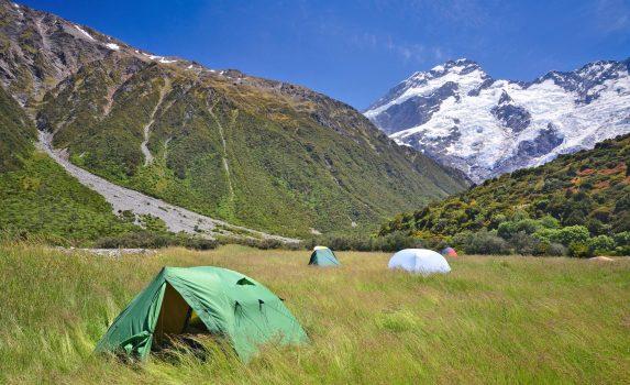 マウント・クックとフッカー・バレーの絶景 ニュージーランドの風景