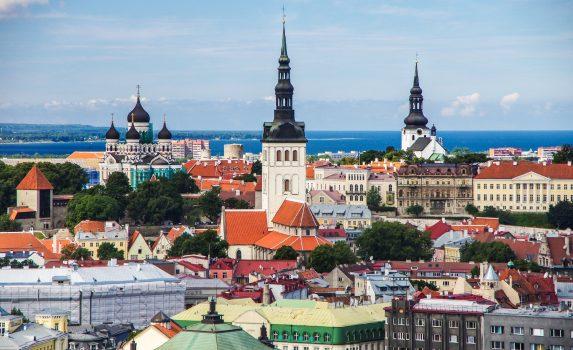 タリンの街並み エストニアの風景