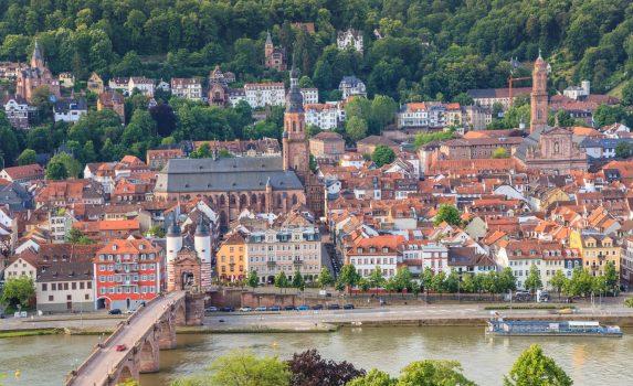 ハイデルベルクの風景 ドイツの風景