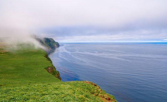 アラスカ セントジョージ島の風景 アメリカの風景