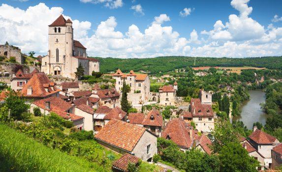 サン・シル・ラポピーの風景 フランスの風景