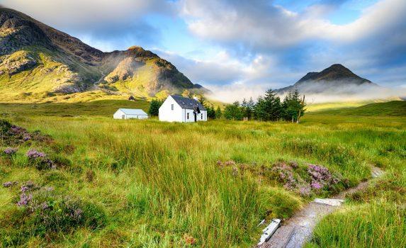 スコットランド ハイランド地方の風景 UKの風景