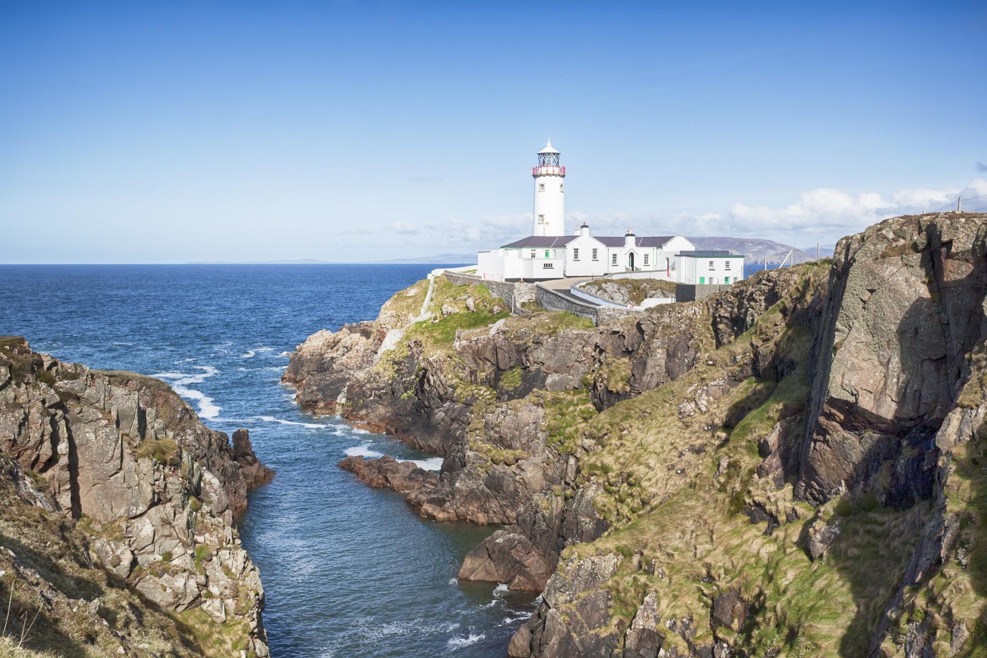 ファナドヘッド灯台 アイルランドの風景