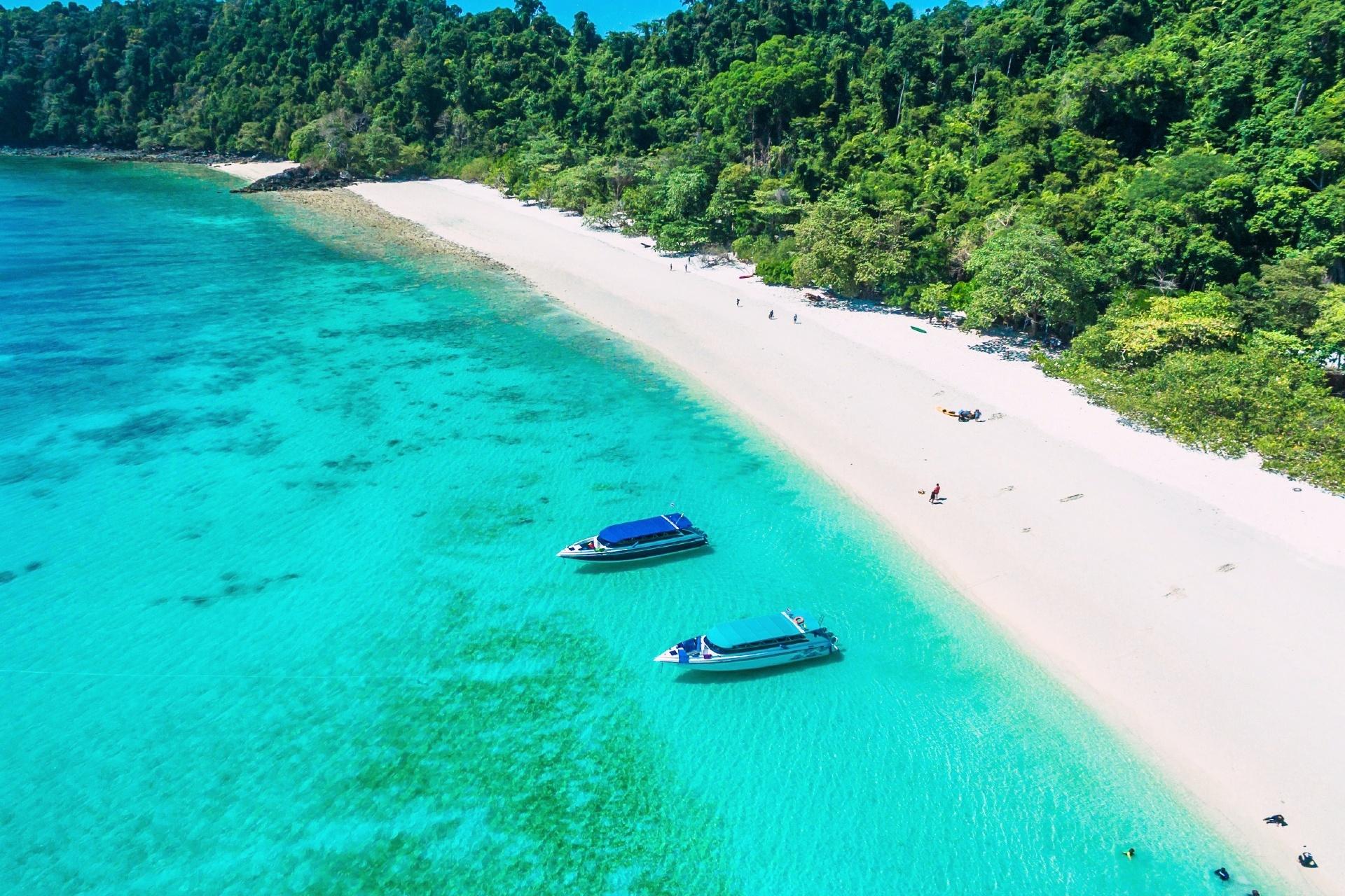 タ・フック島  ミャンマーの風景