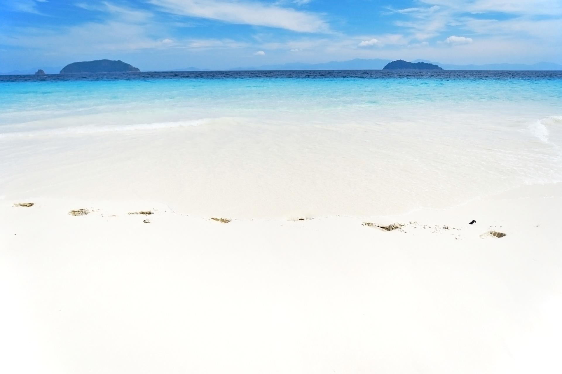 アンダマン海 ミャンマーの風景