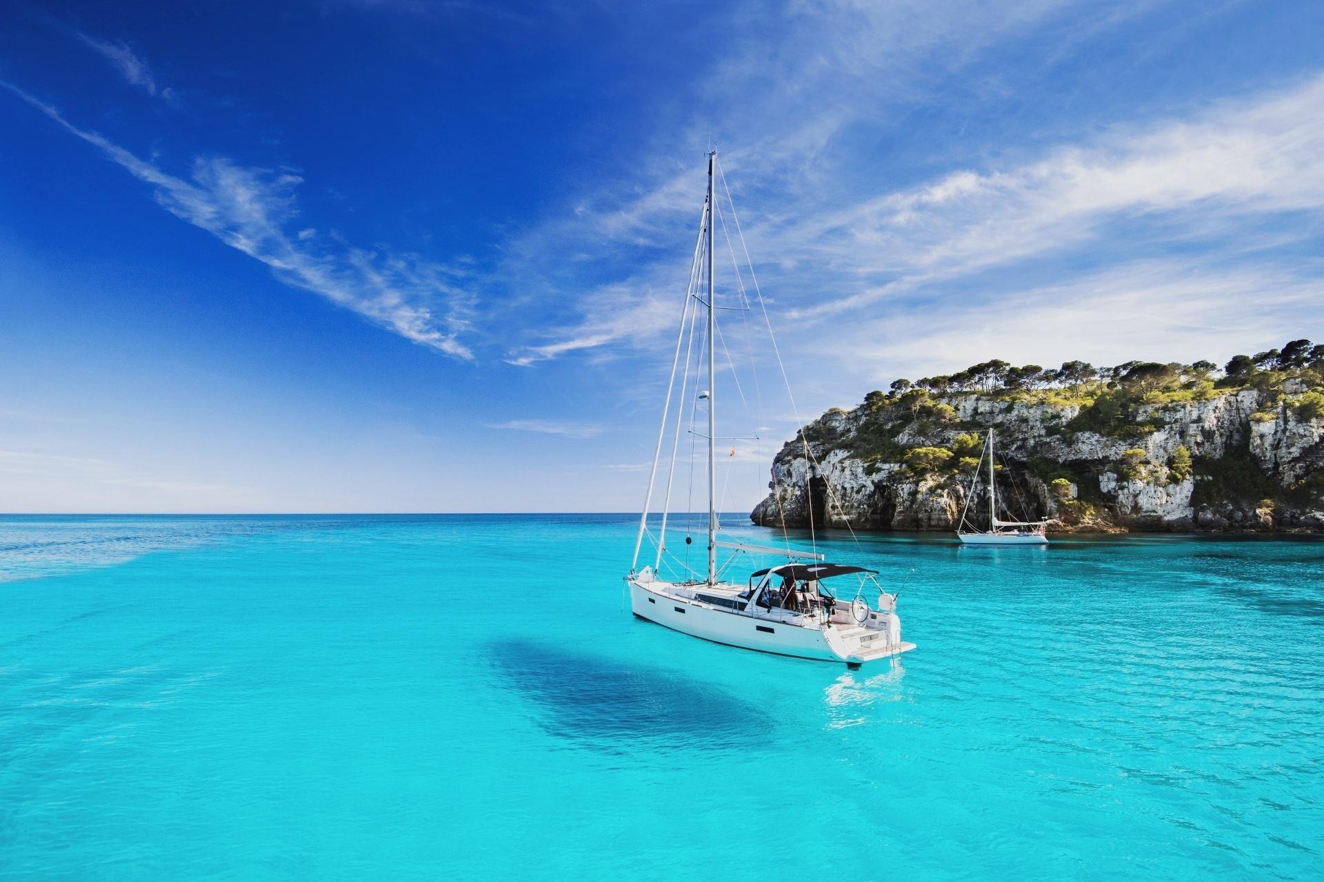 メノルカ島 スペインの風景