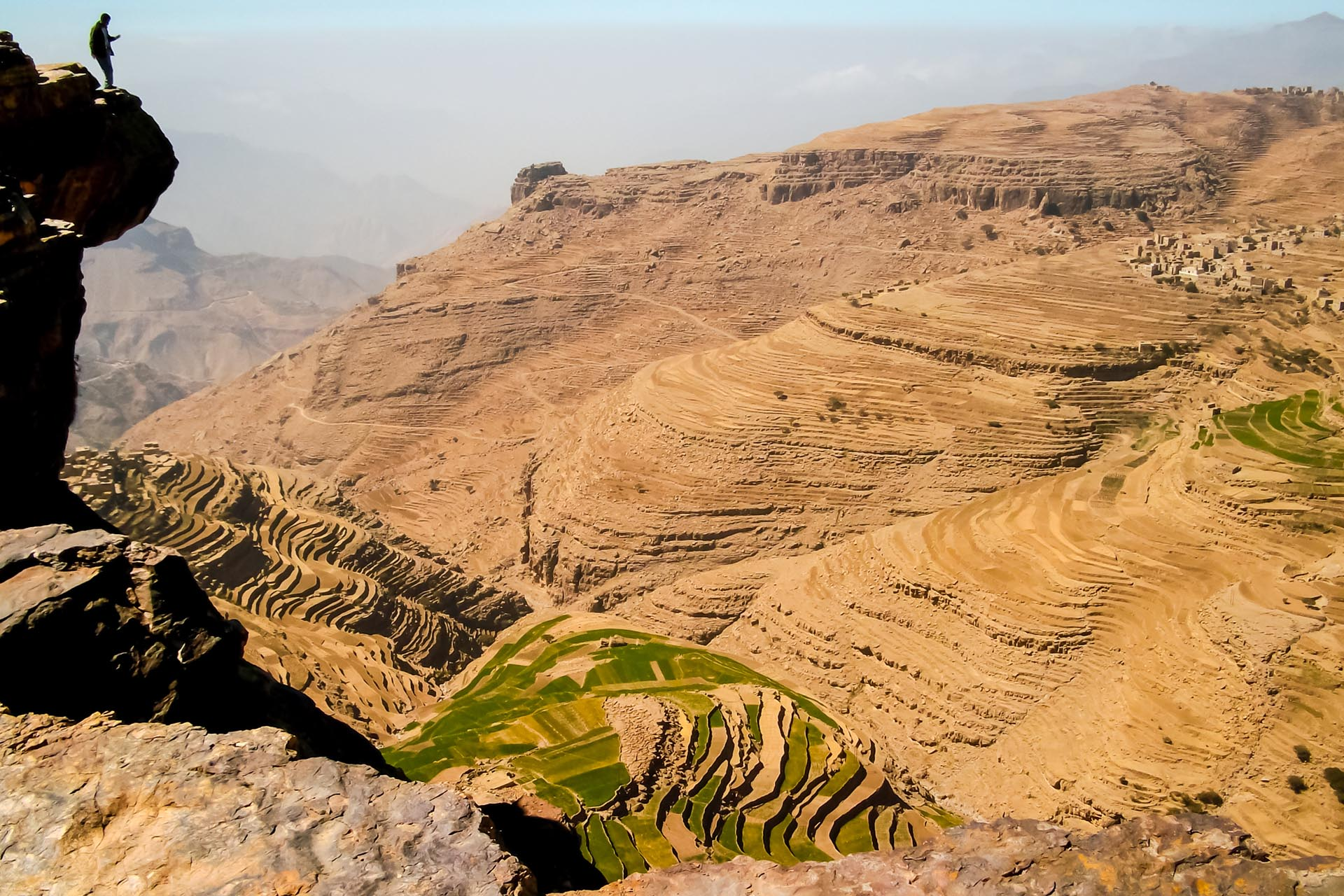 サヌアの風景 イエメンの風景
