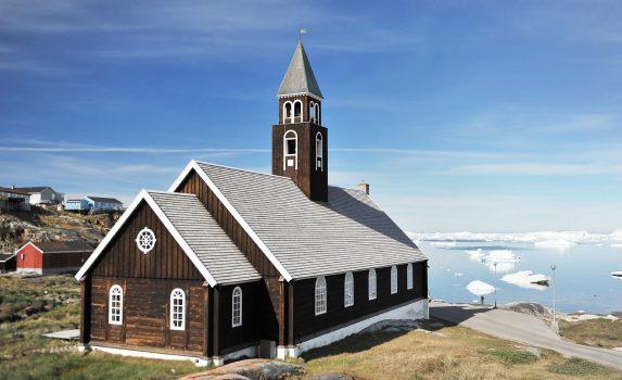 グリーンランド イルリサットの風景