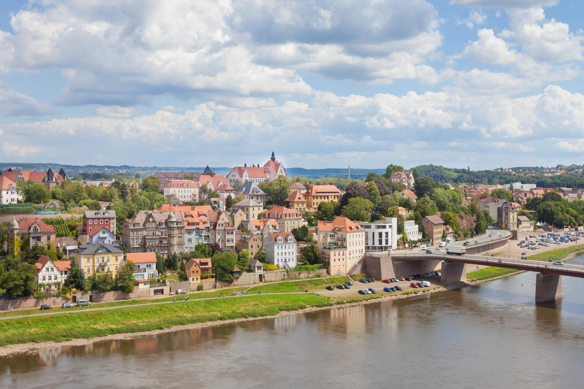 マイセンの街並み ドイツの風景