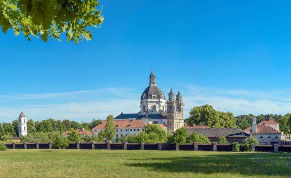 パザイリス修道院 リトアニアの風景