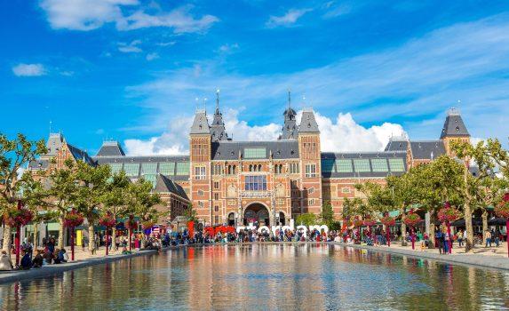 アムステルダム国立美術館 オランダの風景