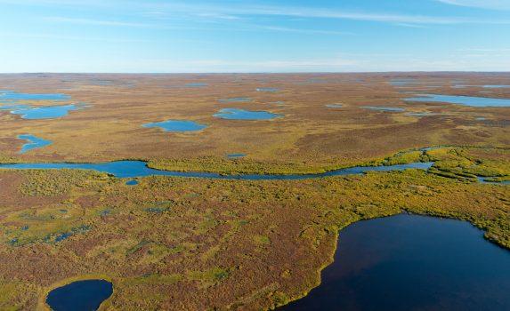 ヌナブト準州の風景 カナダの風景