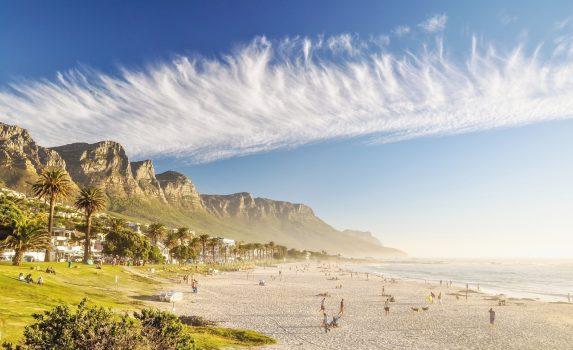 キャンプス・ベイの風景 ケープタウン 南アフリカの風景