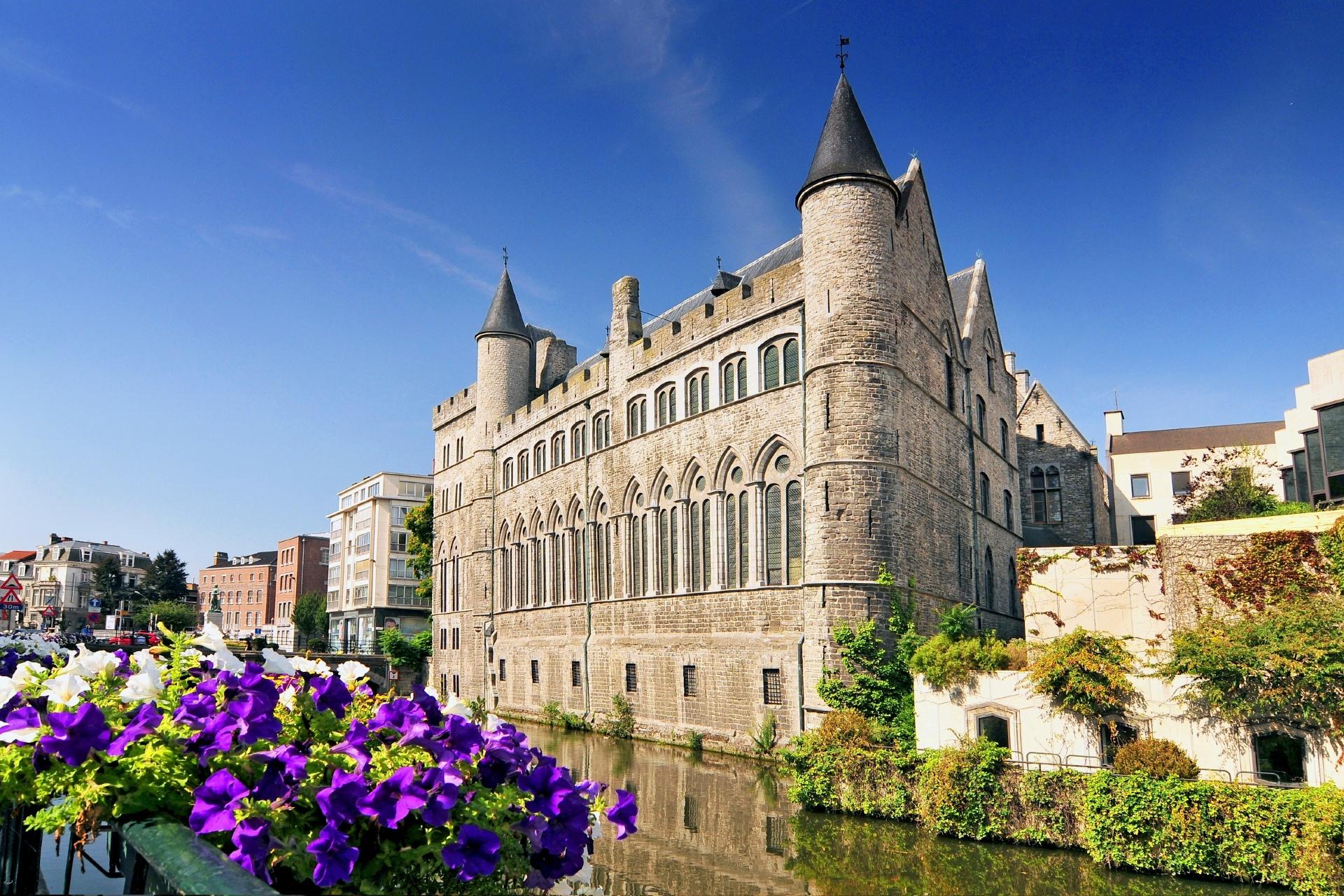 ゲントの風景 ベルギーの風景