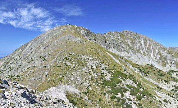 夏のリラ山脈 ブルガリアの風景
