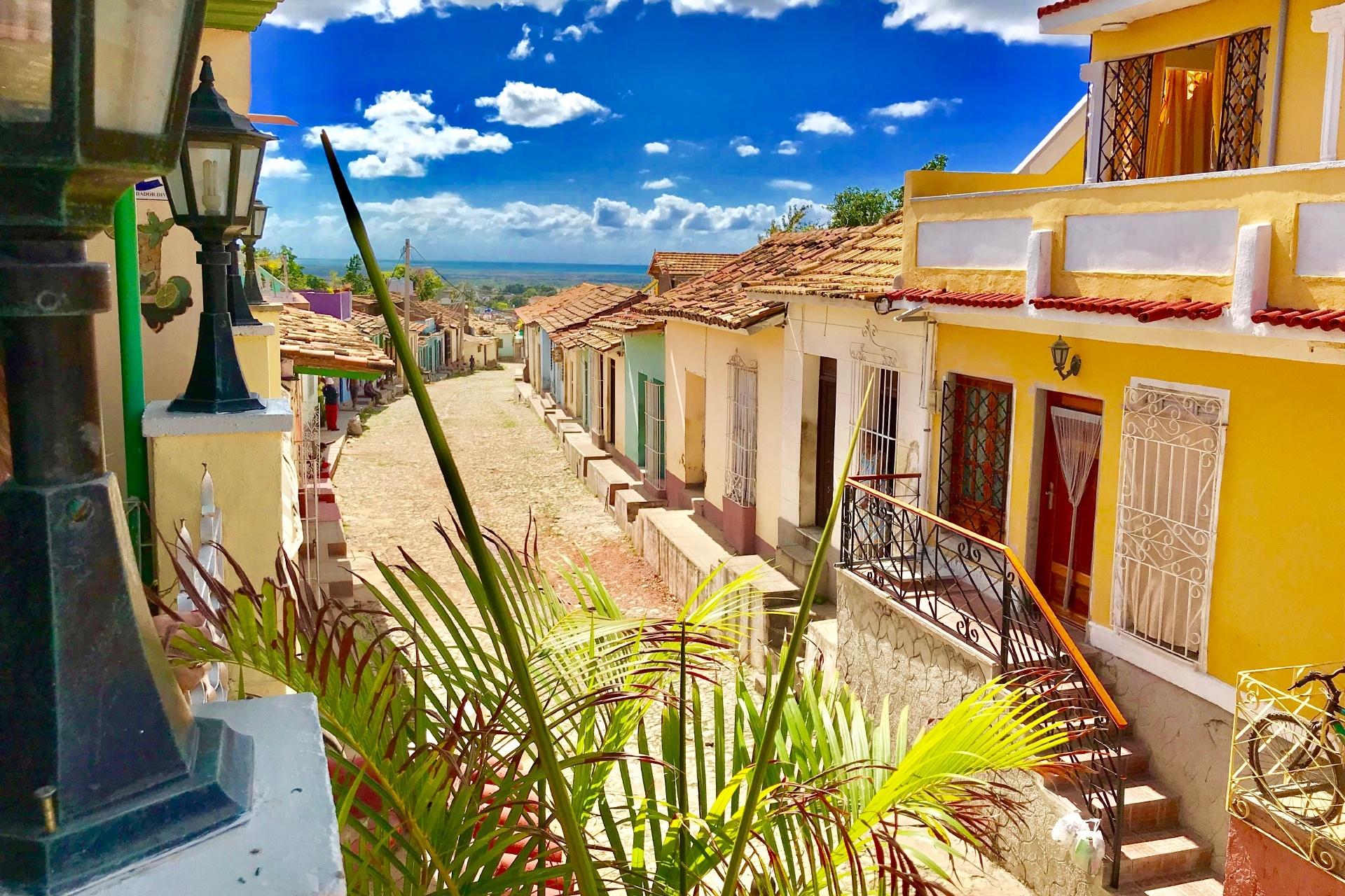 トリニダー(トリニダード)の風景 キューバの風景