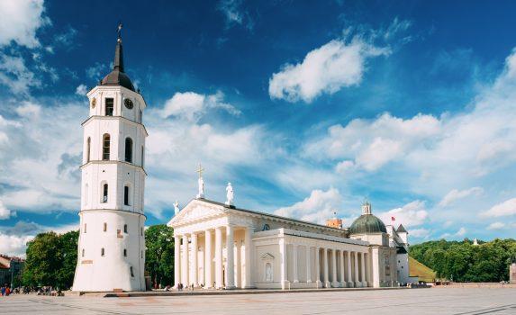 夏のヴィリニュスの風景 リトアニアの風景