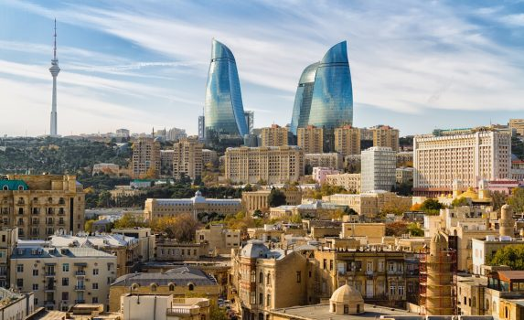 バクーの街並み アゼルバイジャンの風景