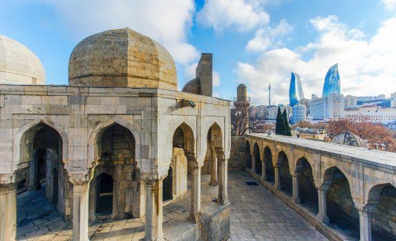 バクーの風景 アゼルバイジャンの風景