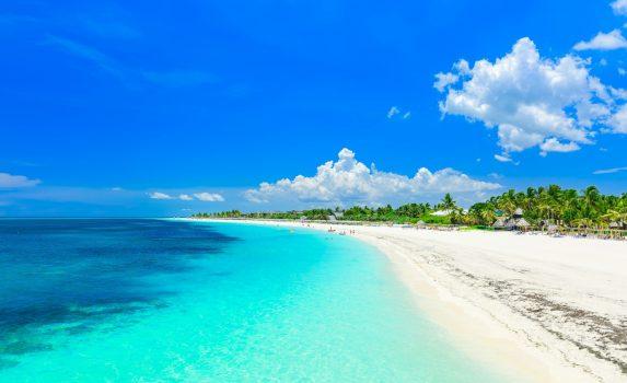 夏のカヨココ島 キューバの風景