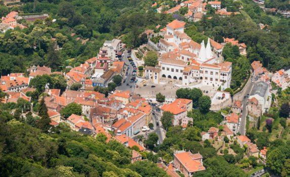 シントラ宮殿 ポルトガルの風景
