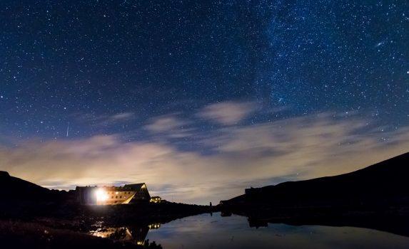 星空の風景 ブルガリアの風景