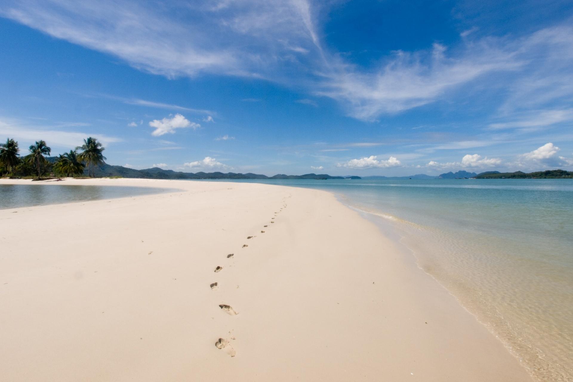 ヤオヤイ島の風景 タイの風景