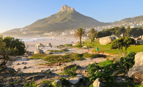 ライオンヘッド ケープタウンの風景 南アフリカの風景