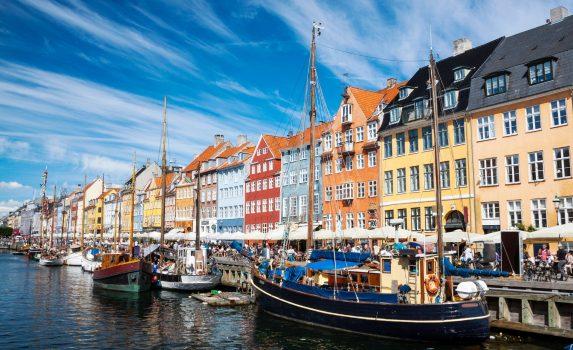 ニューハウン コペンハーゲンの風景 デンマークの風景