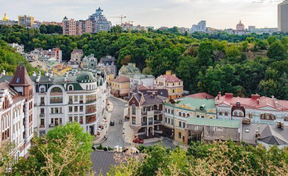 キエフの風景 ウクライナの風景