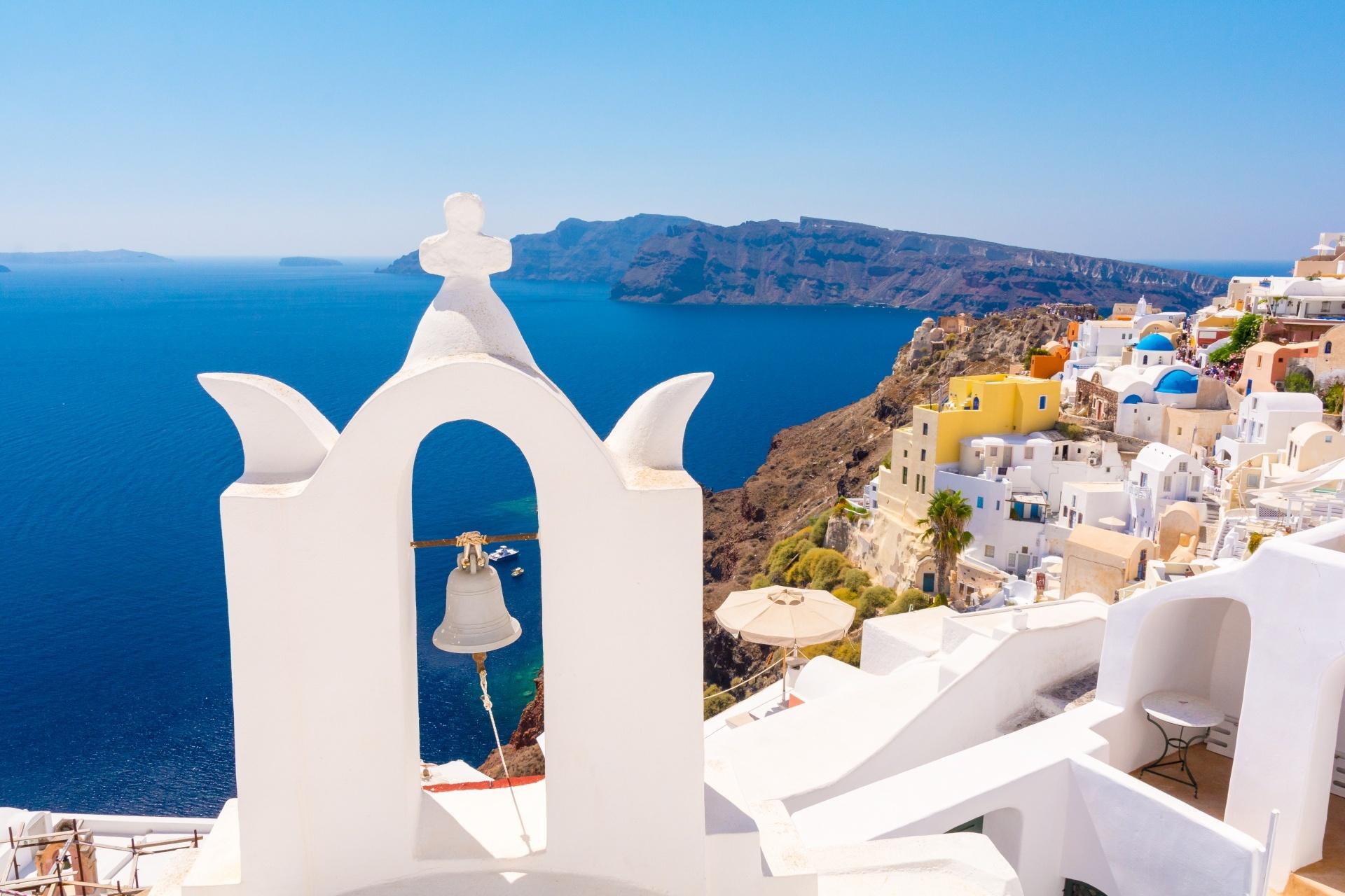 エーゲ海の景色 ギリシャの風景