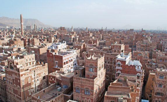 サナア旧市街 イエメンの風景
