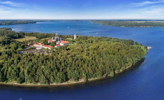 パザイリス修道院 カウナス リトアニアの風景