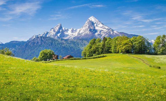 ベルヒテスガーデン国立公園 ドイツの風景