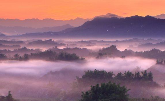 雲海 台湾の風景