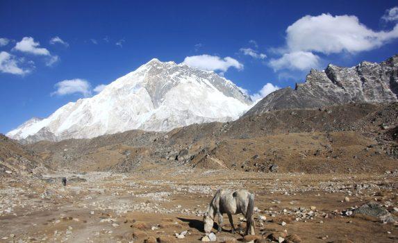 エベレスト街道の風景 ネパールの風景