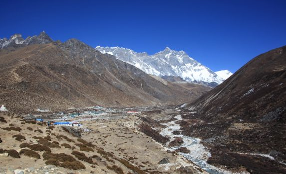エベレスト街道 ネパールの風景