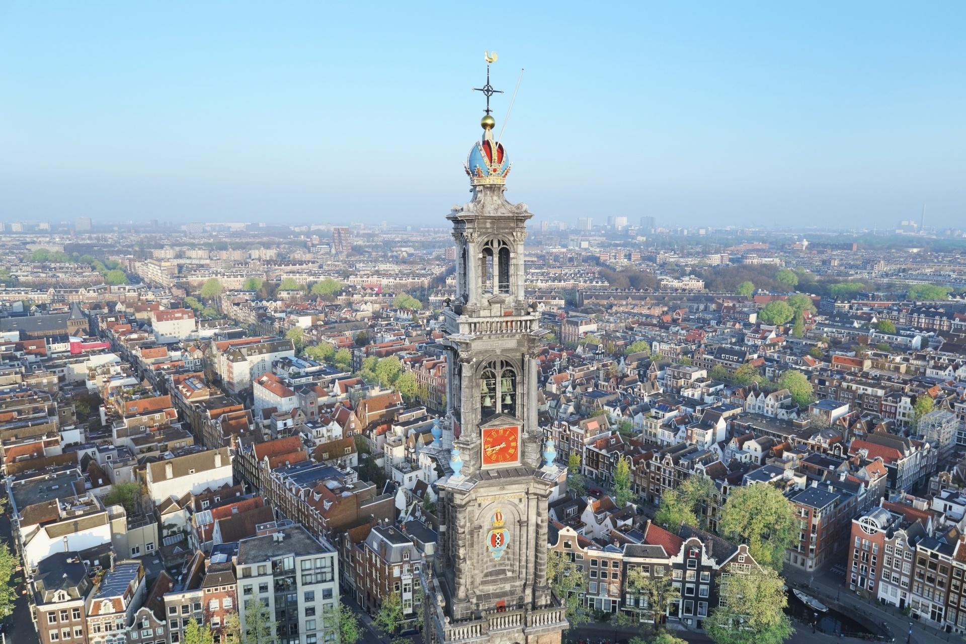 アムステルダムの風景 オランダの風景