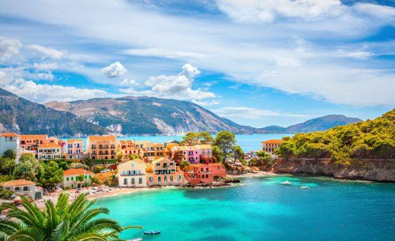 ケファロニア島の風景 ギリシャの風景