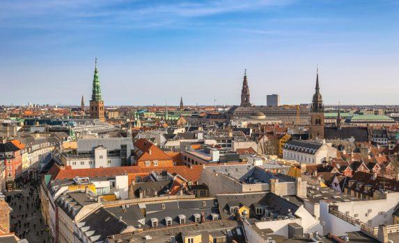 コペンハーゲンの風景 デンマークの風景