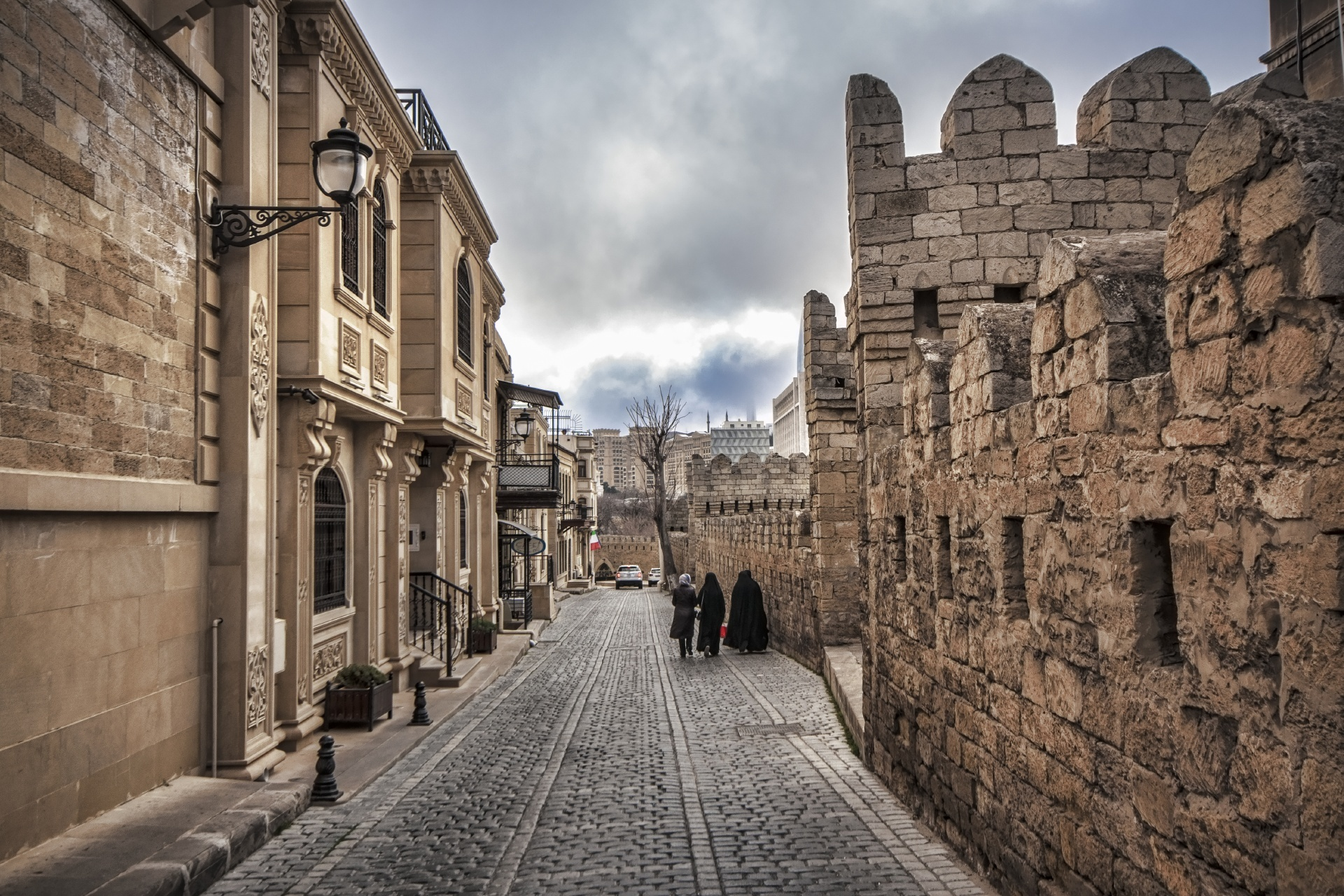 バクーの旧市街 アゼルバイジャンの風景