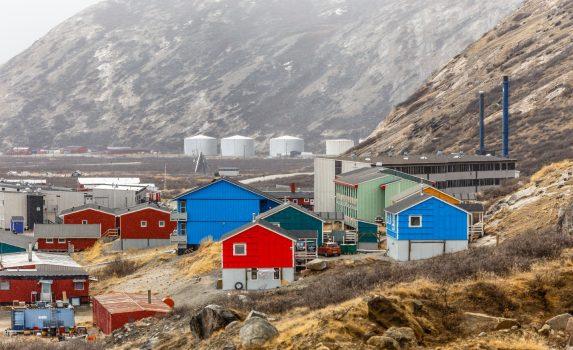 カンゲルルススアークの風景 グリーンランドの風景