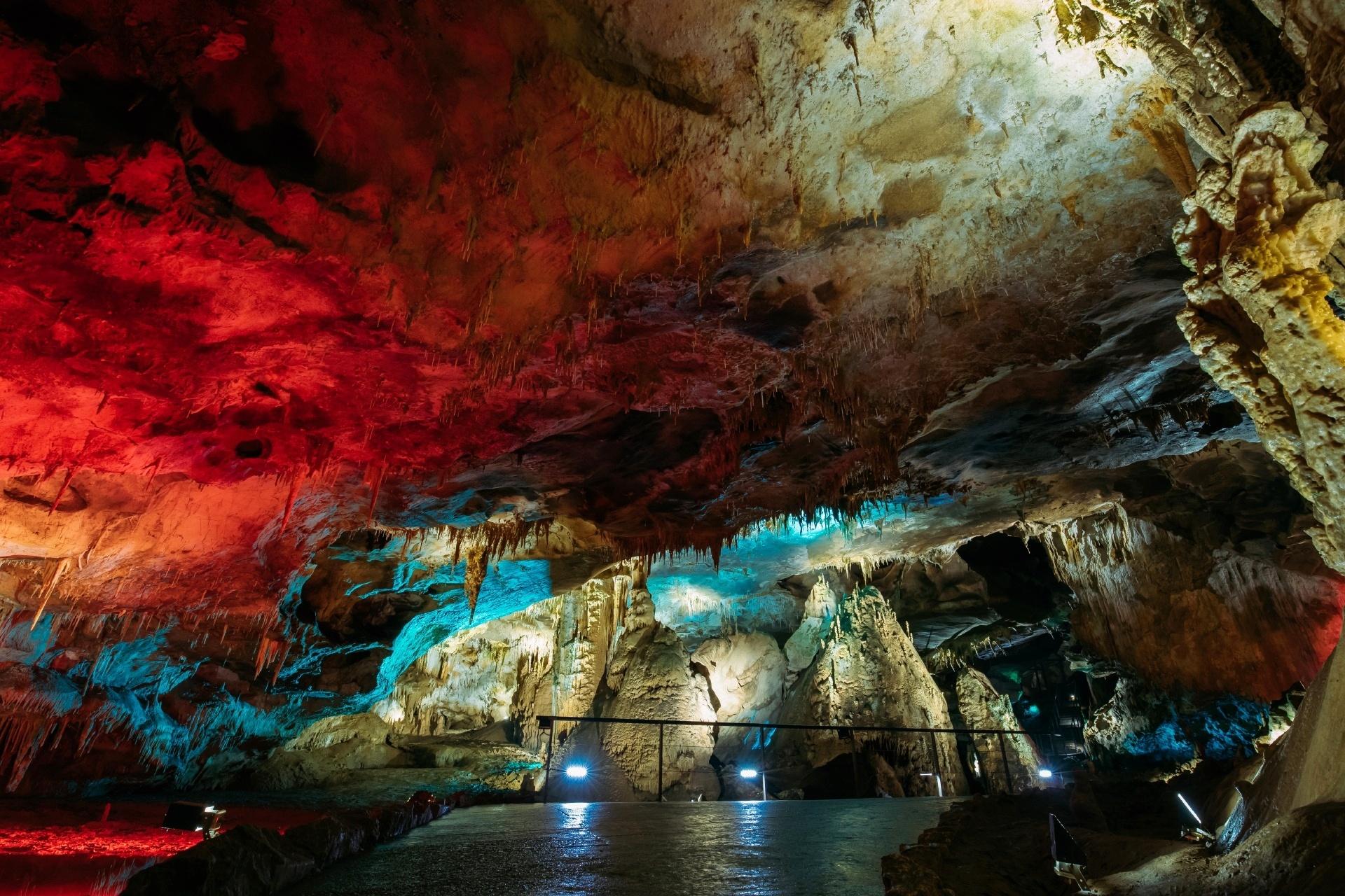 プロメテウス洞窟 ジョージアの風景