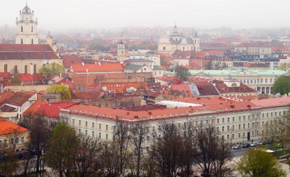 ヴィリニュスの旧市街 リトアニアの風景