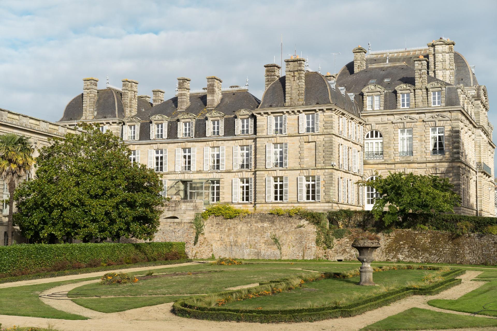ヴァンヌの風景 フランスの風景