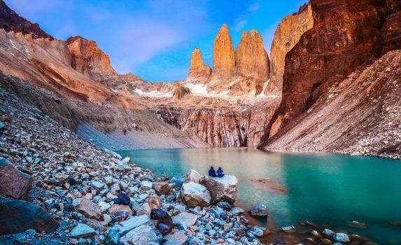 ラグーナ・トーレ パタゴニアの風景 チリの風景