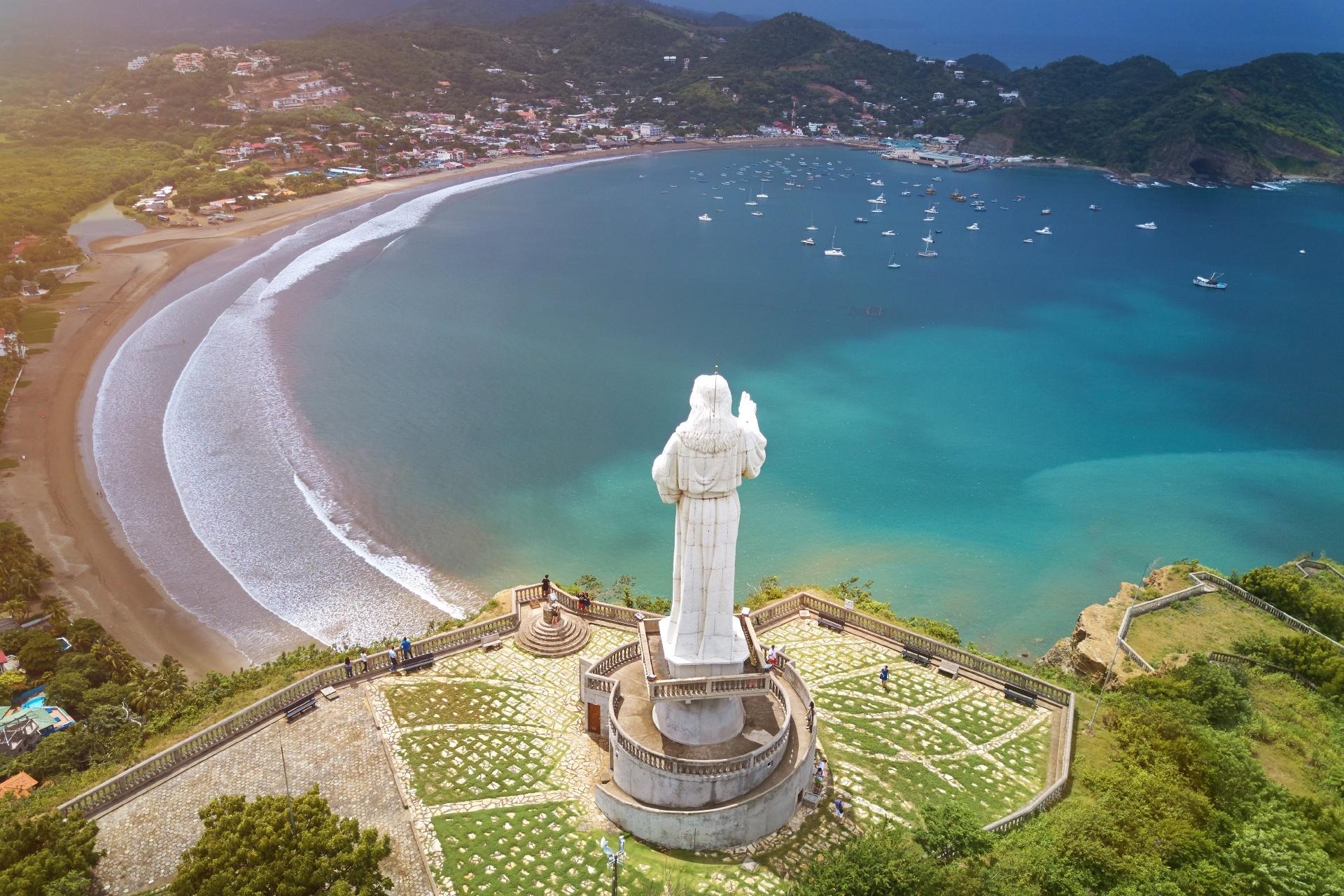 サン・フアン・デル・スルの風景 ニカラグアの風景