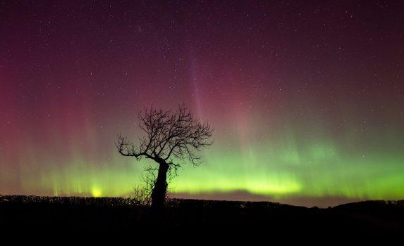 スコットランドのオーロラ スコットランドの風景
