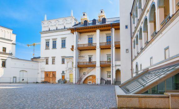 ヴィリニュスの旧市街 大聖堂 リトアニアの風景